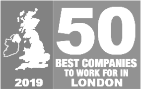 Lockton named 2019 50 best companies to work for in London