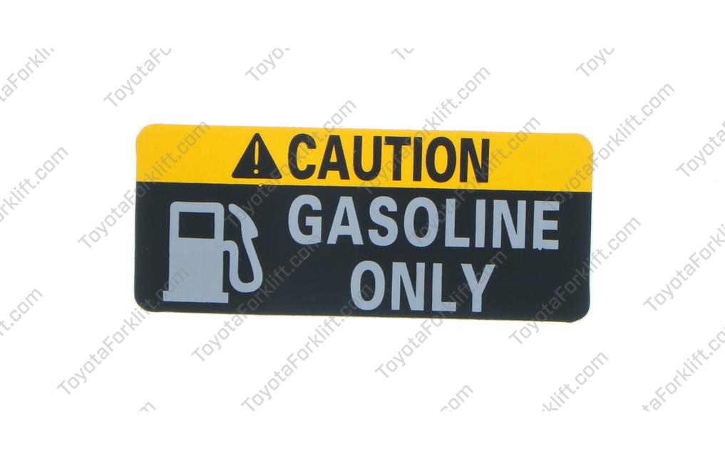 Fuel Indicator Plate