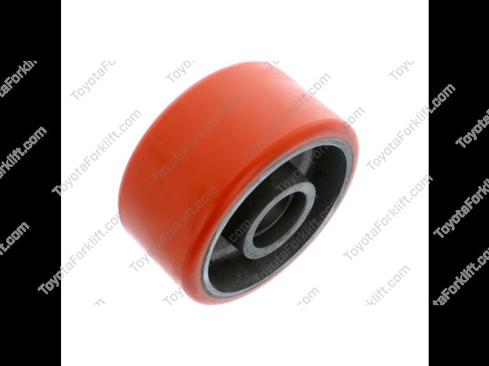 Orange Caster Wheel