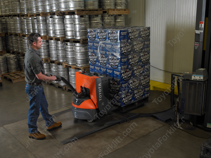 Toyota Electric Walkie Pallet Jack