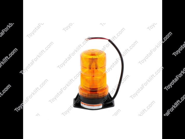 Flashing Yellow Beacon Lamp Assembly