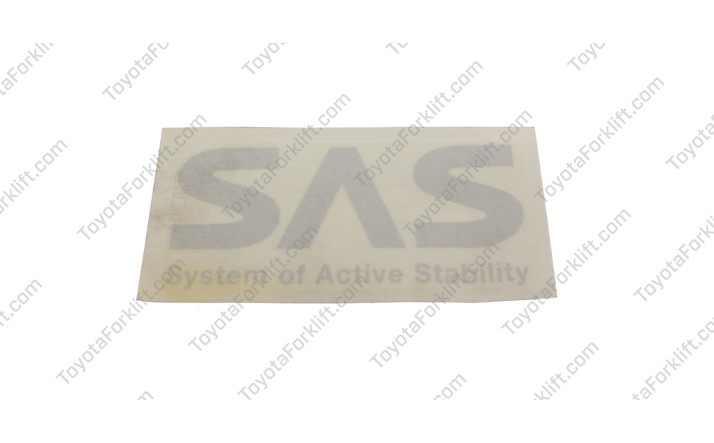 SAS Indicator Label