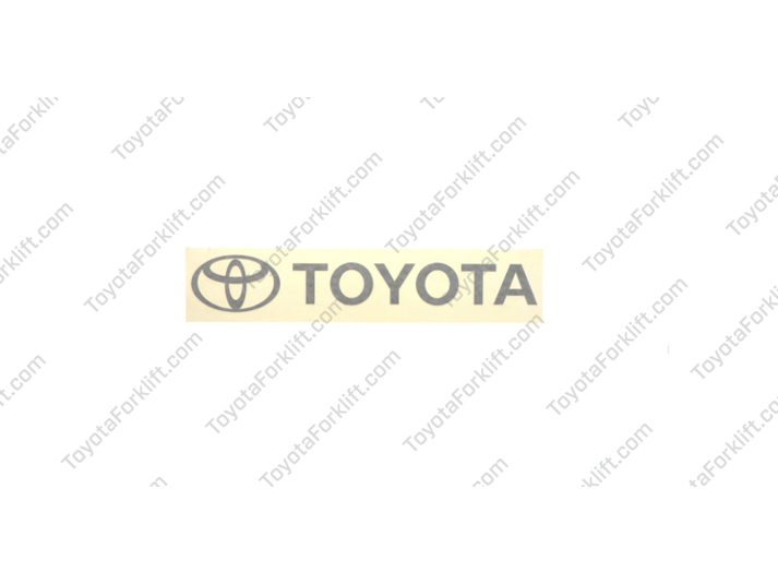 Toyota Name and Symbol Decal