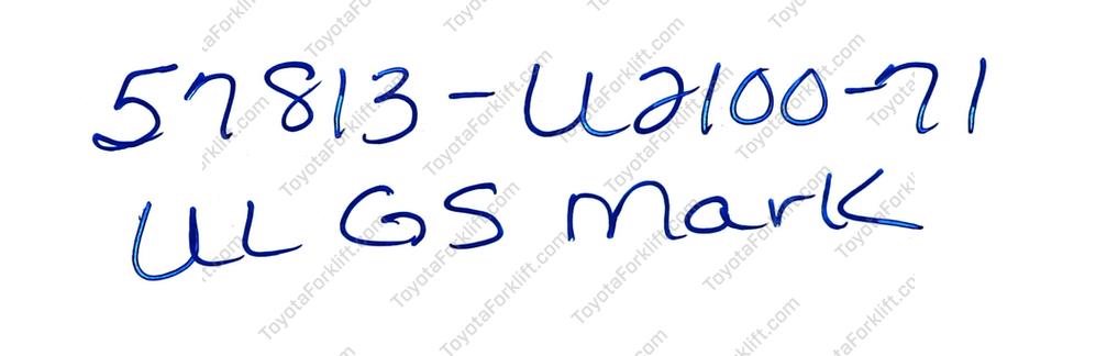 MARK, UL GS
