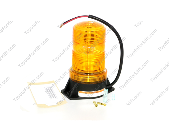 Flashing Amber Beacon Lamp Assembly