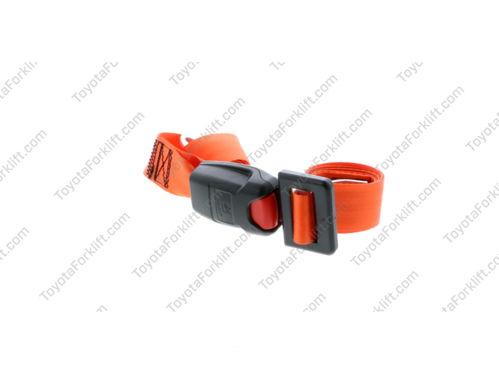 Orange, Non-Cinch Seat Belt Assembly