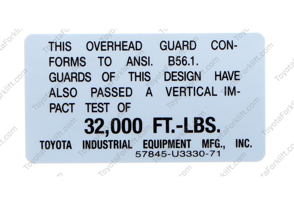 Head Guard Test Plate