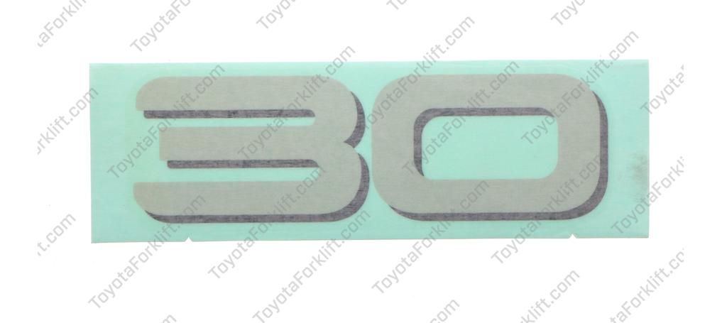 Capacity Indicator Plate