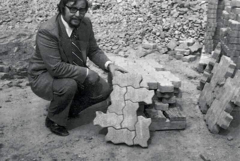 Ed with UniStone 1972