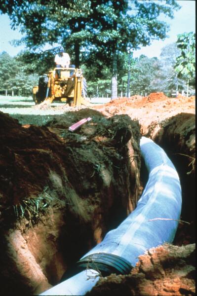 SB2 Installation into Trench