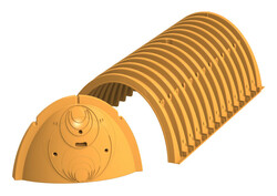 SC-740 Chamber and End Cap