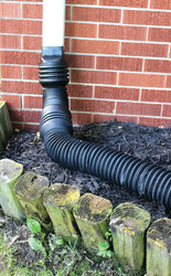 Bend-A-Drain and Expandable Downspout Adapter Residential