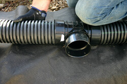 Singlewall Agriculture Installation Perforated Pipe