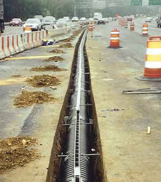Duraslot Highway Installation