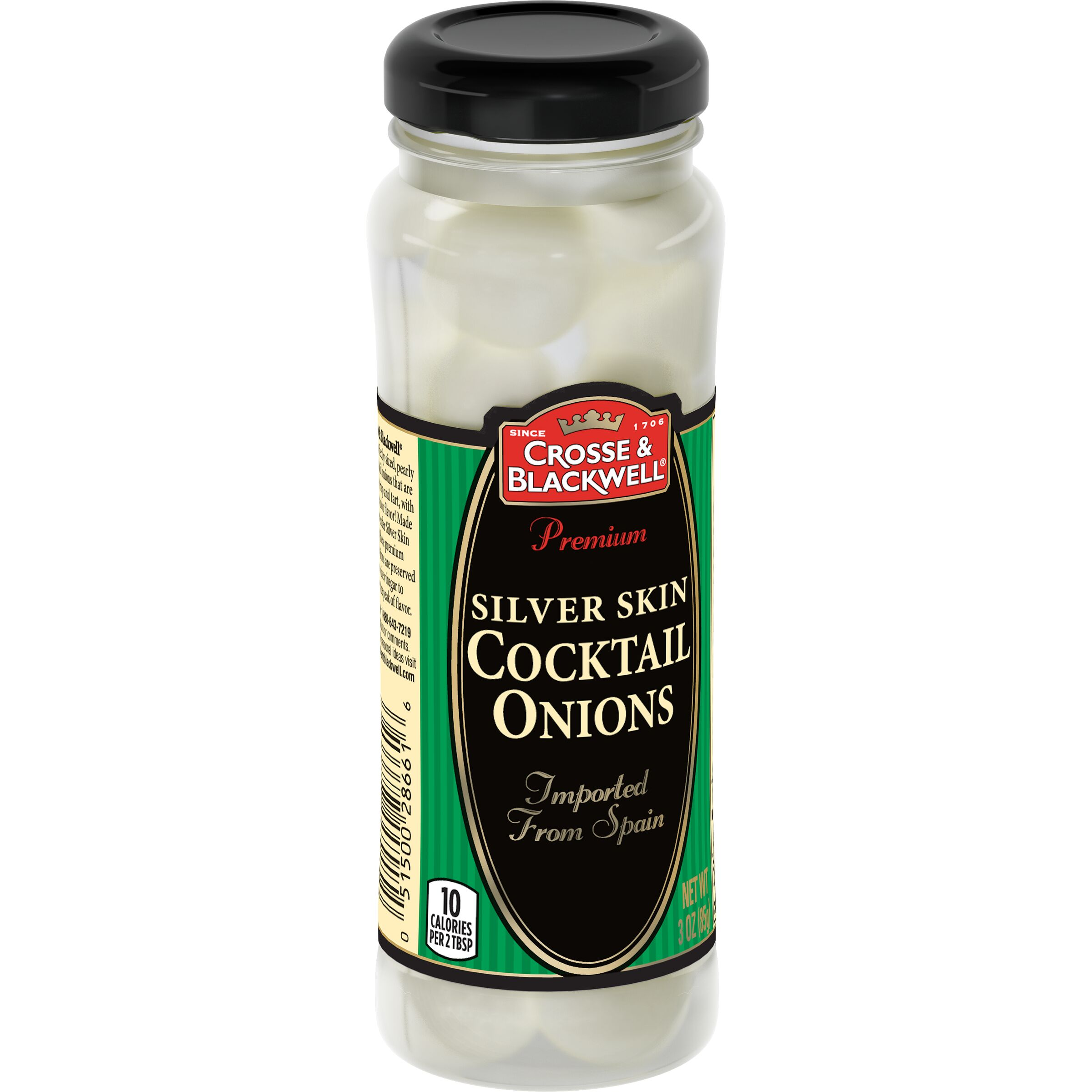 Crosse & Blackwell  Premium Silver Skin Cocktail Onions