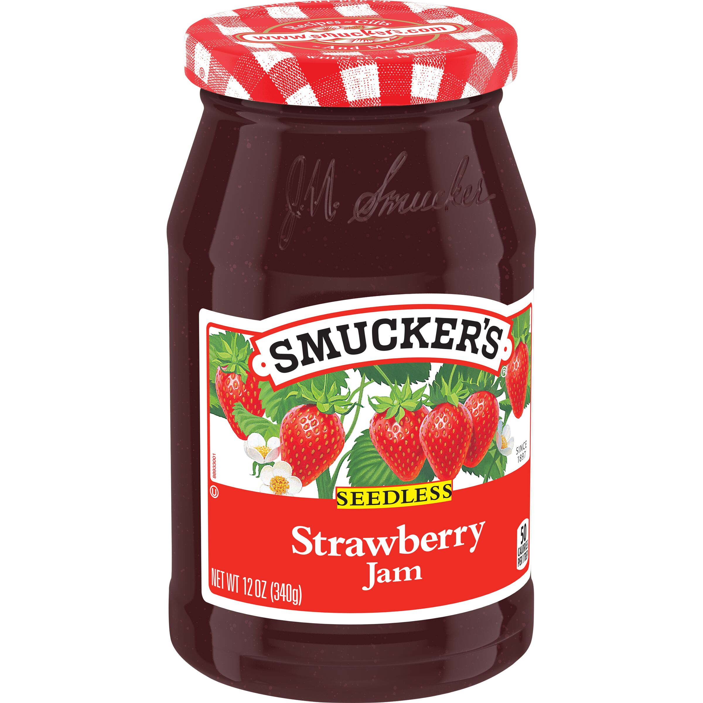 Smucker's<sup>®</sup>  Seedless Strawberry Jam