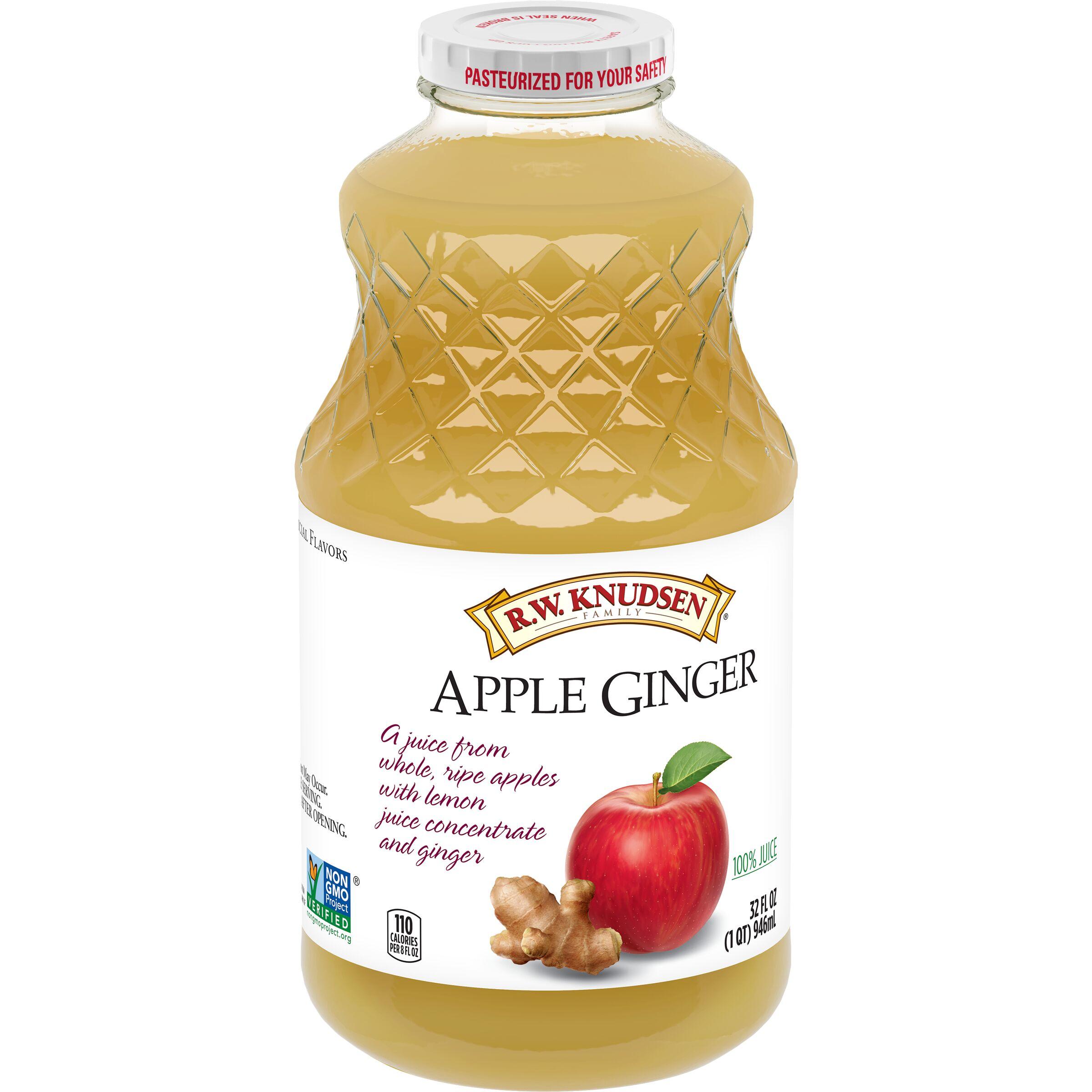 R.W. Knudsen Family  Apple Ginger Juice