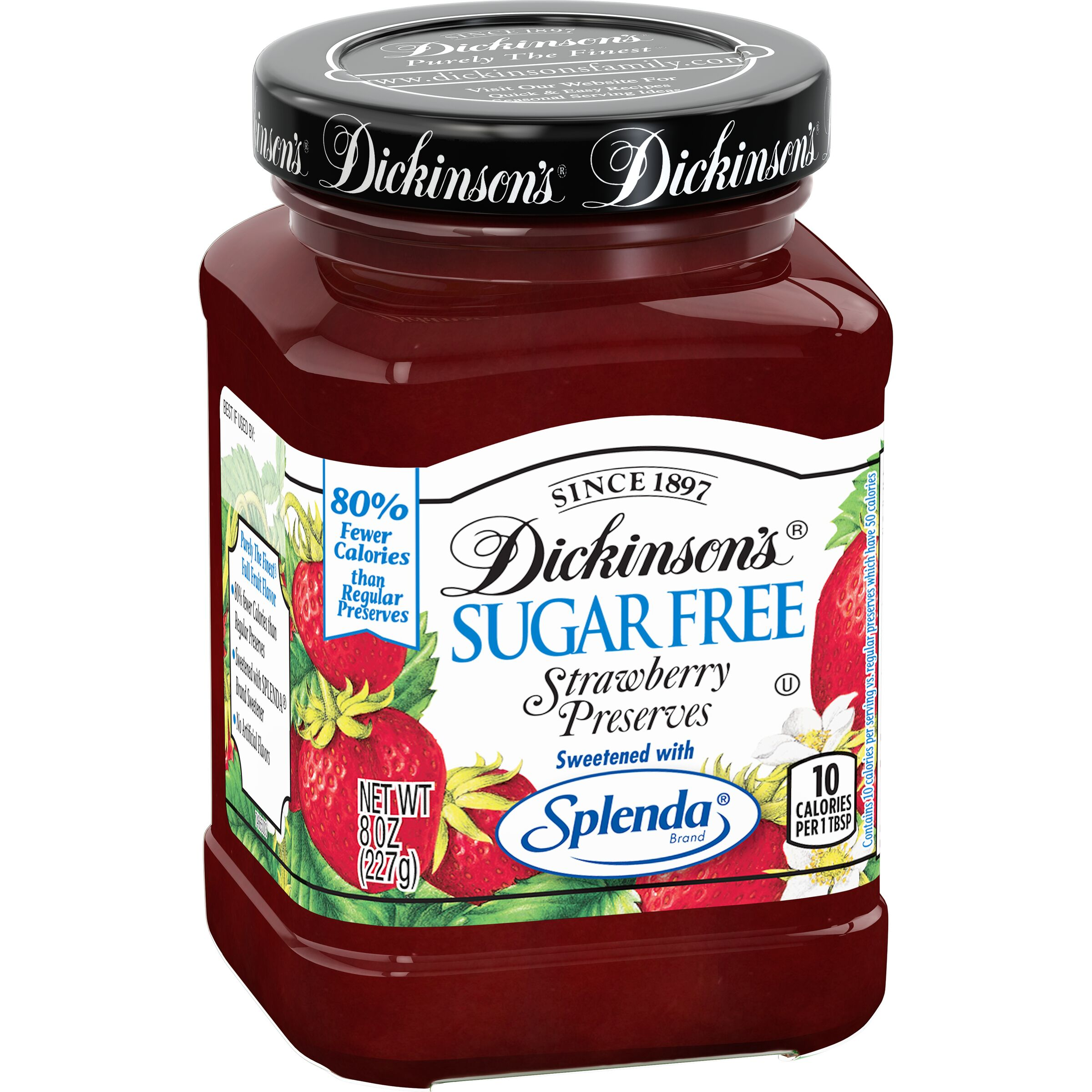 Dickinson's  Sugar Free Strawberry Preserves