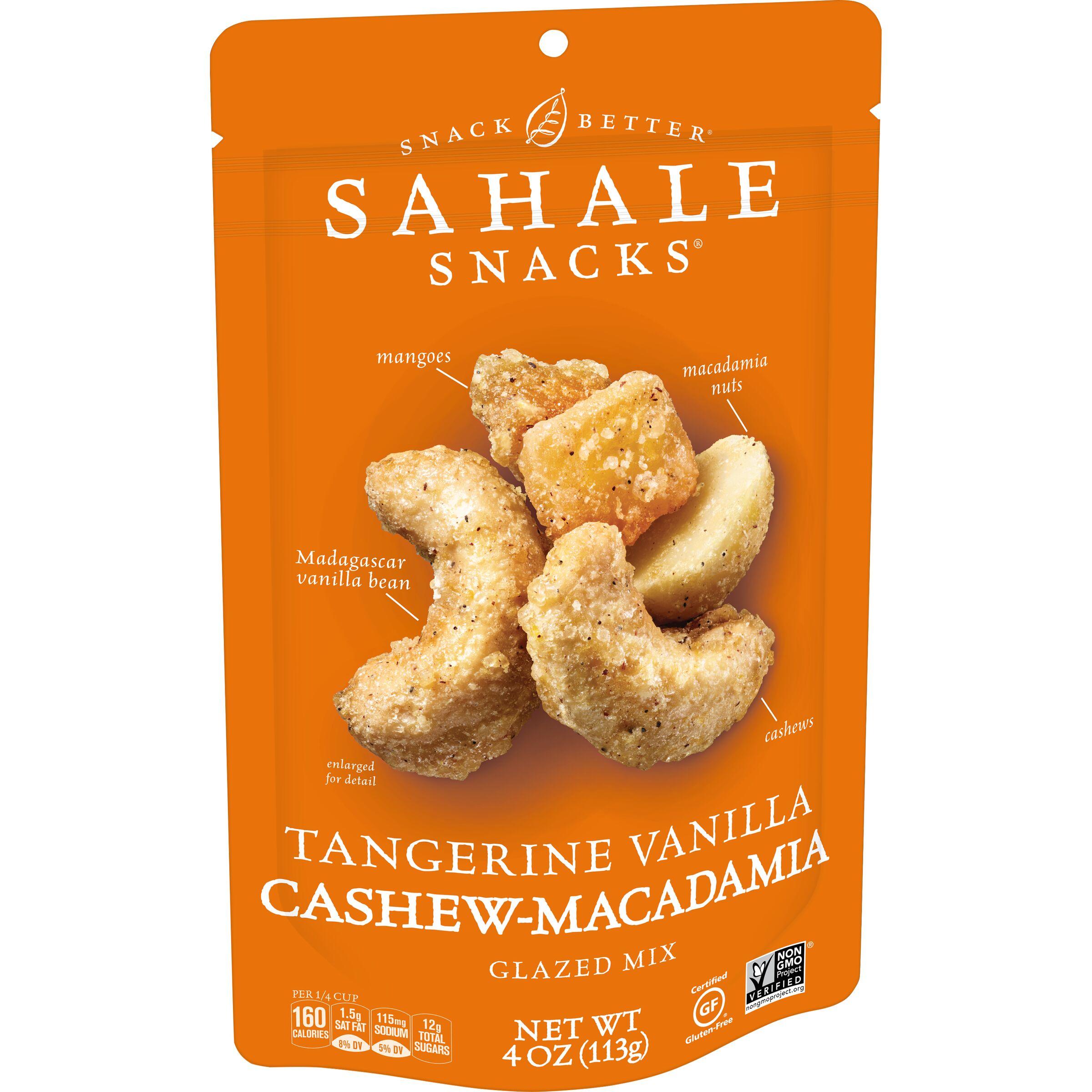 Sahale Snacks  Tangerine Vanilla Cashew-Macadamia Glazed Mix