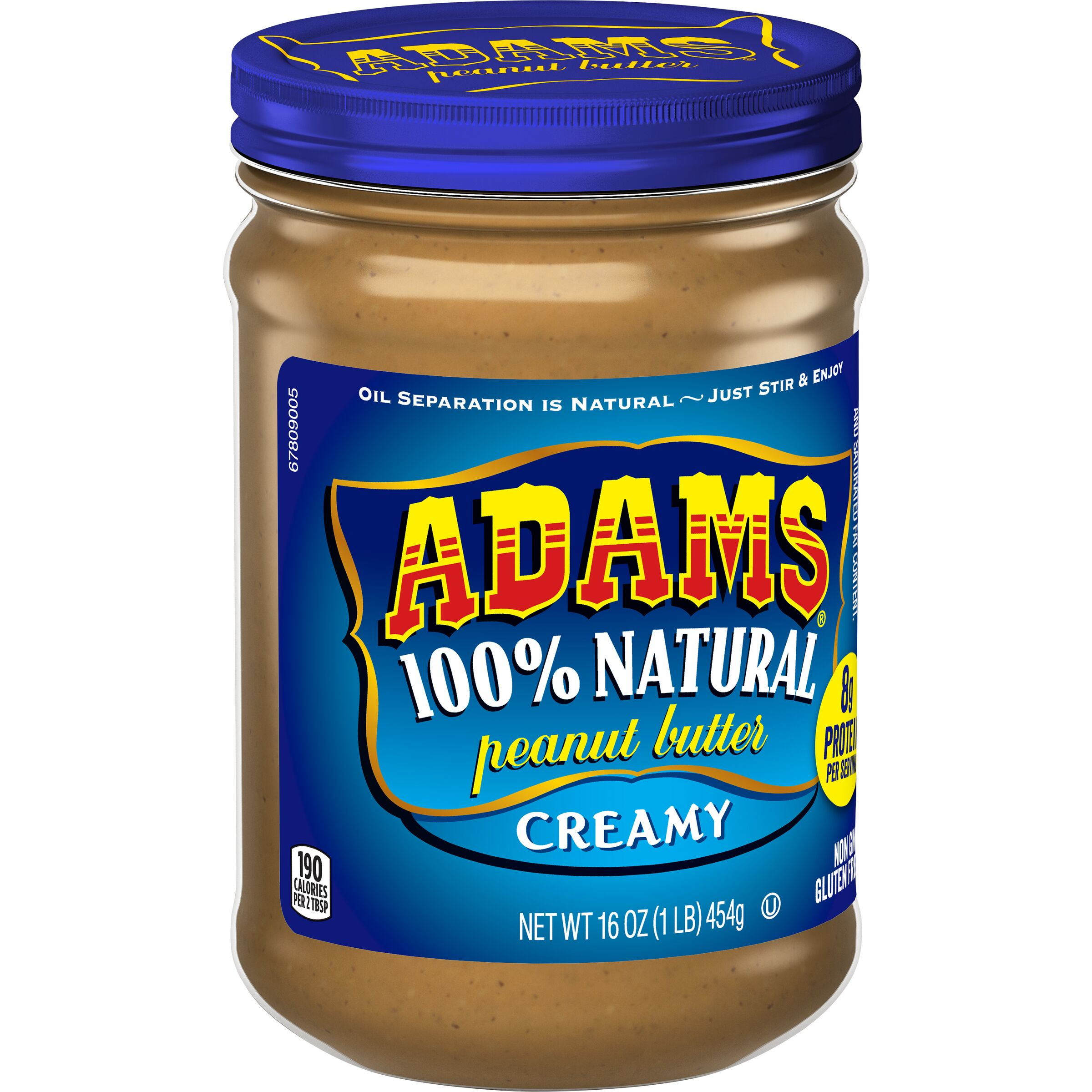 Adams  Natural Creamy Peanut Butter