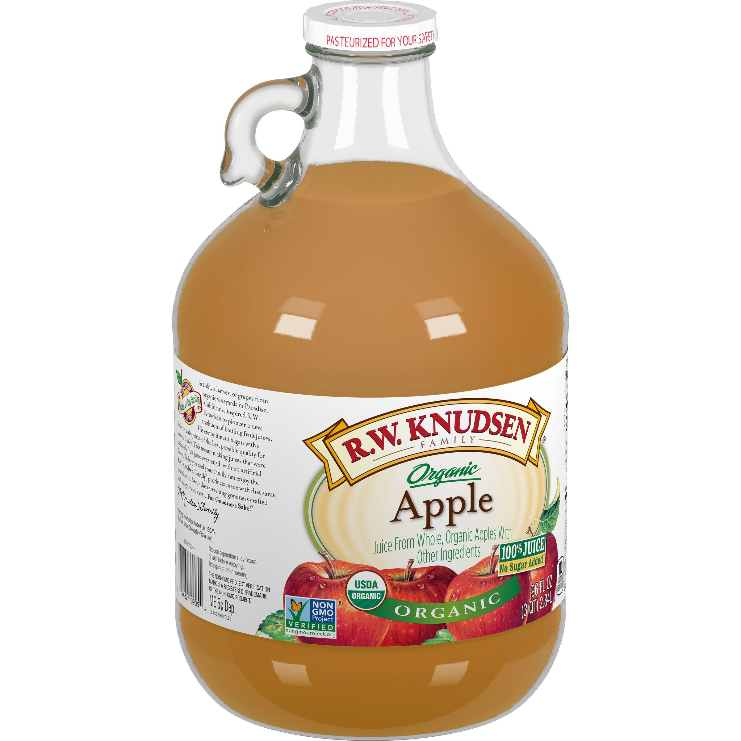R.W. Knudsen Family  Organic Apple Juice Box