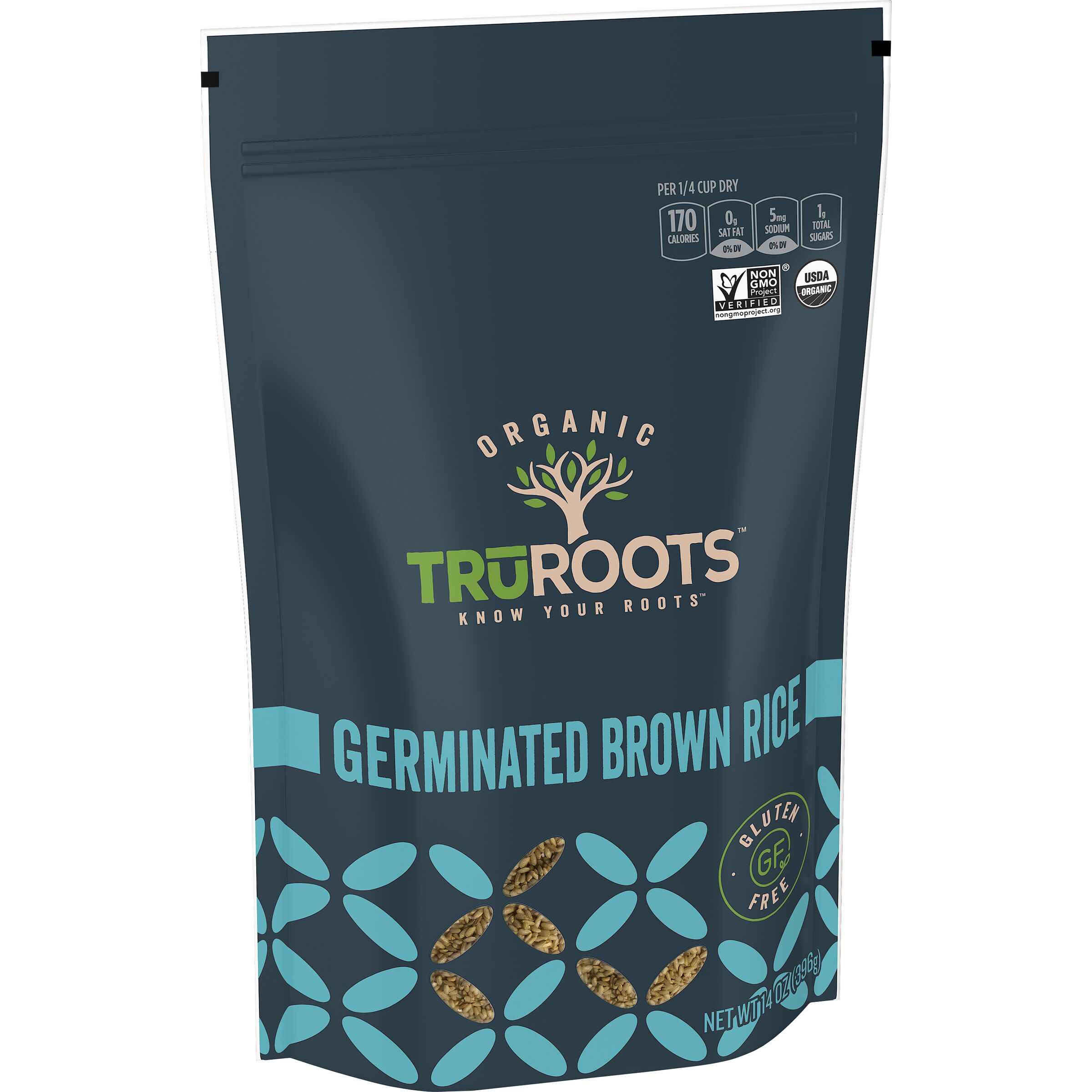 truRoots ORIGINALS Organic Germinated Brown Rice