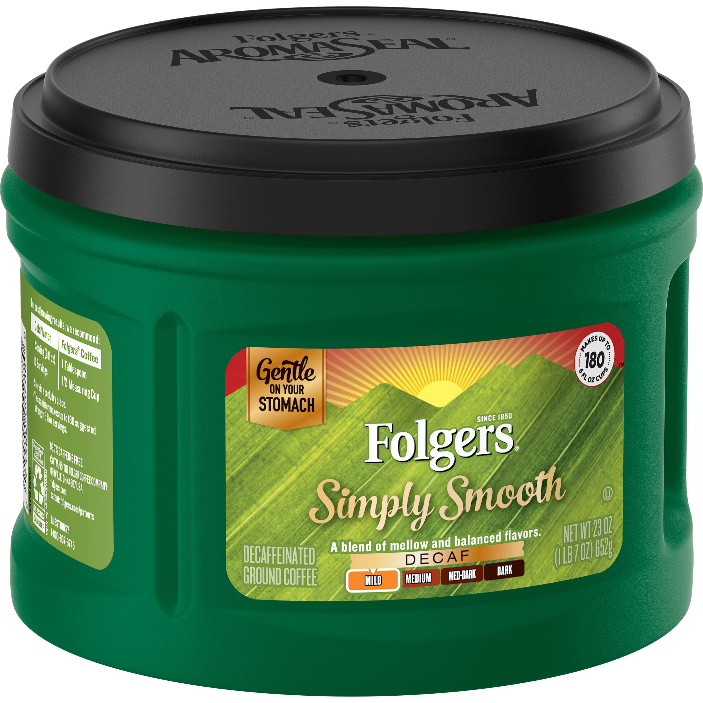Folgers<sup>®</sup>  Simply Smooth® Decaf Coffee