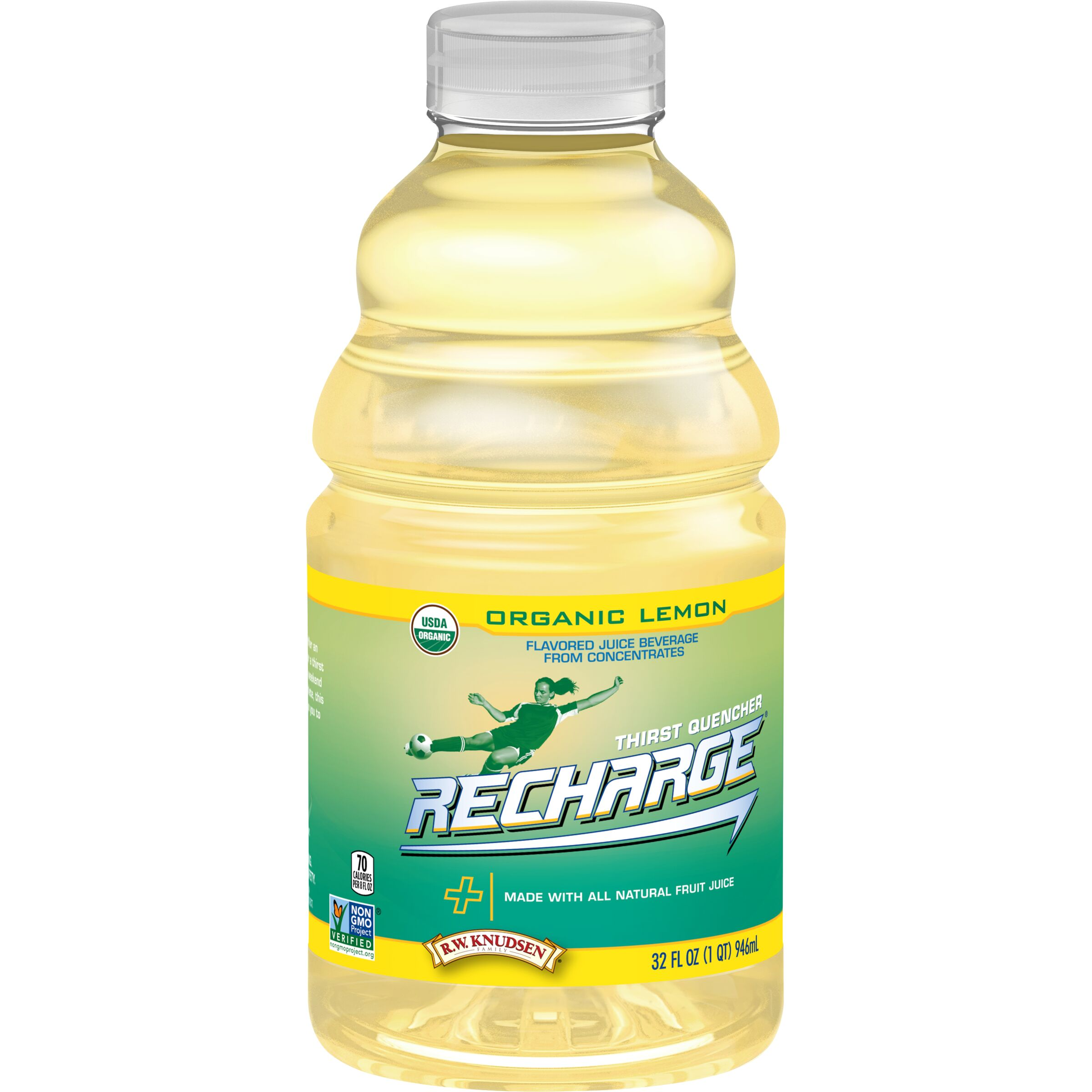 R.W. Knudsen Family Recharge Organic Lemon Sports Drink