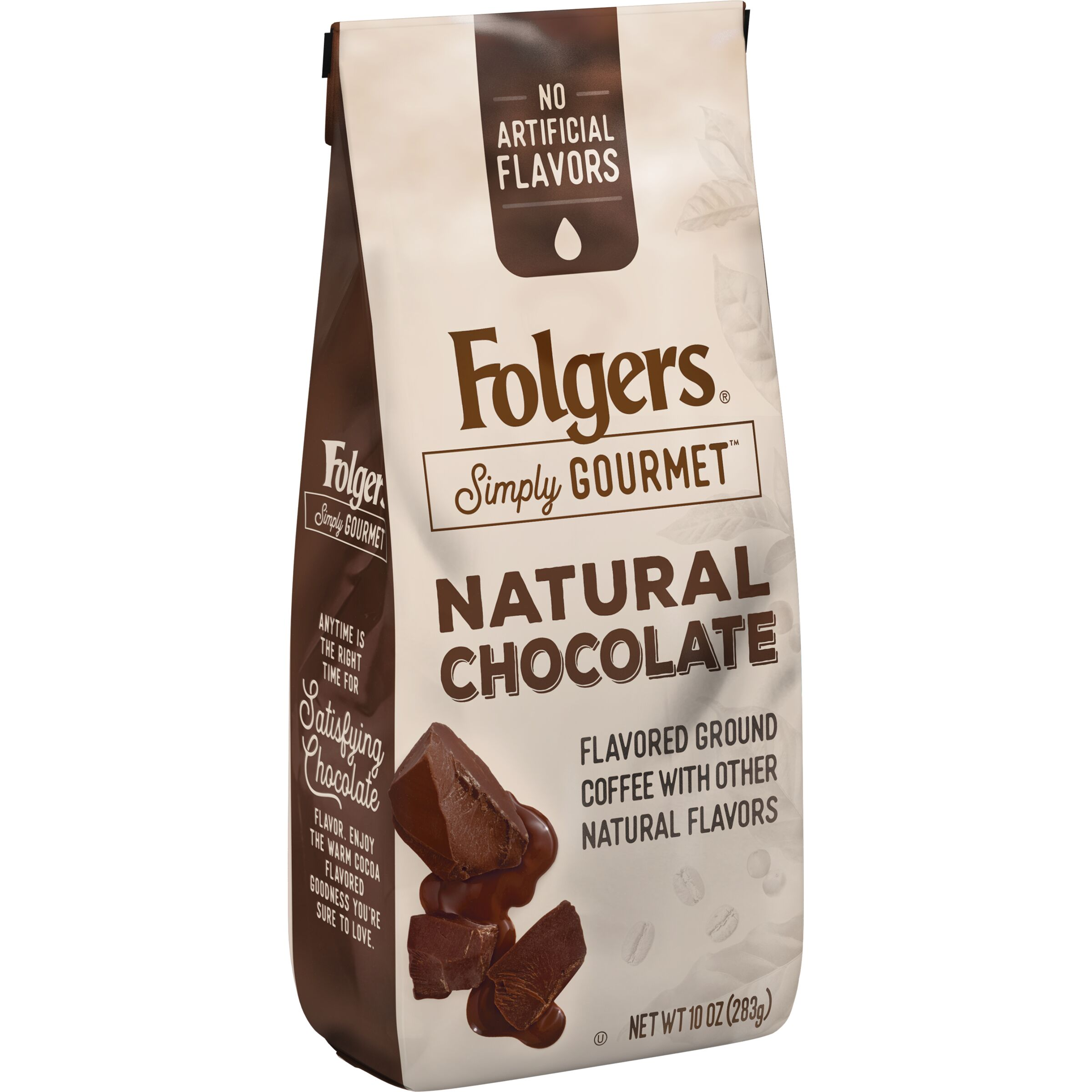 Folgers Simply Gourmet Natural Chocolate Flavored Ground Coffee