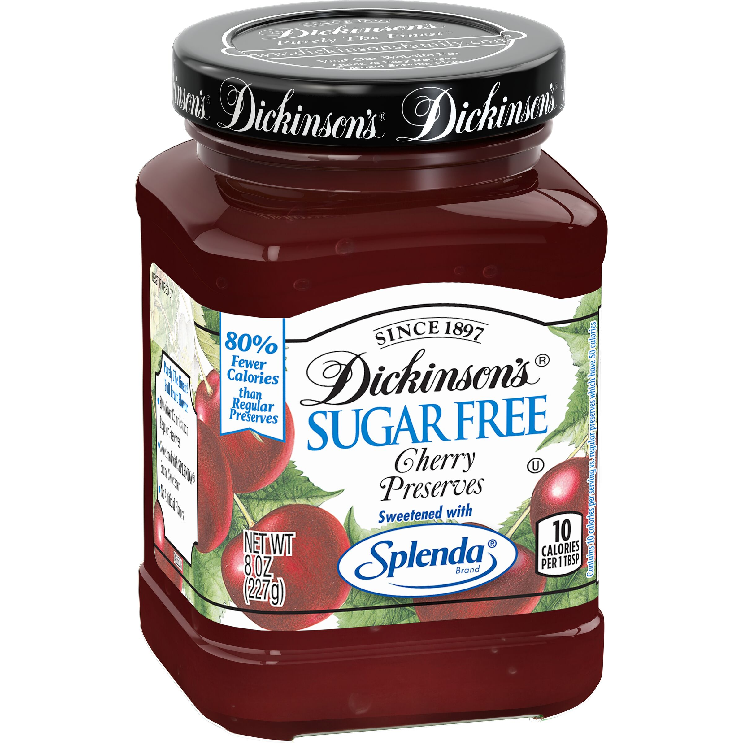Dickinson's<sup>®</sup>  Sugar Free Cherry Preserves