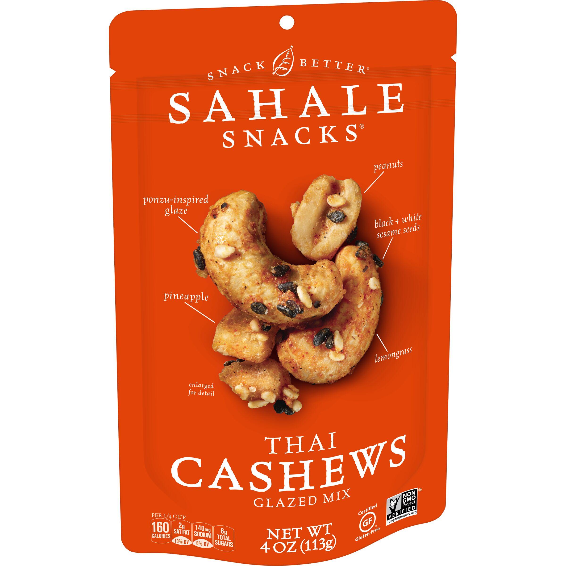 Sahale Snacks  Thai Cashews Glazed Mix