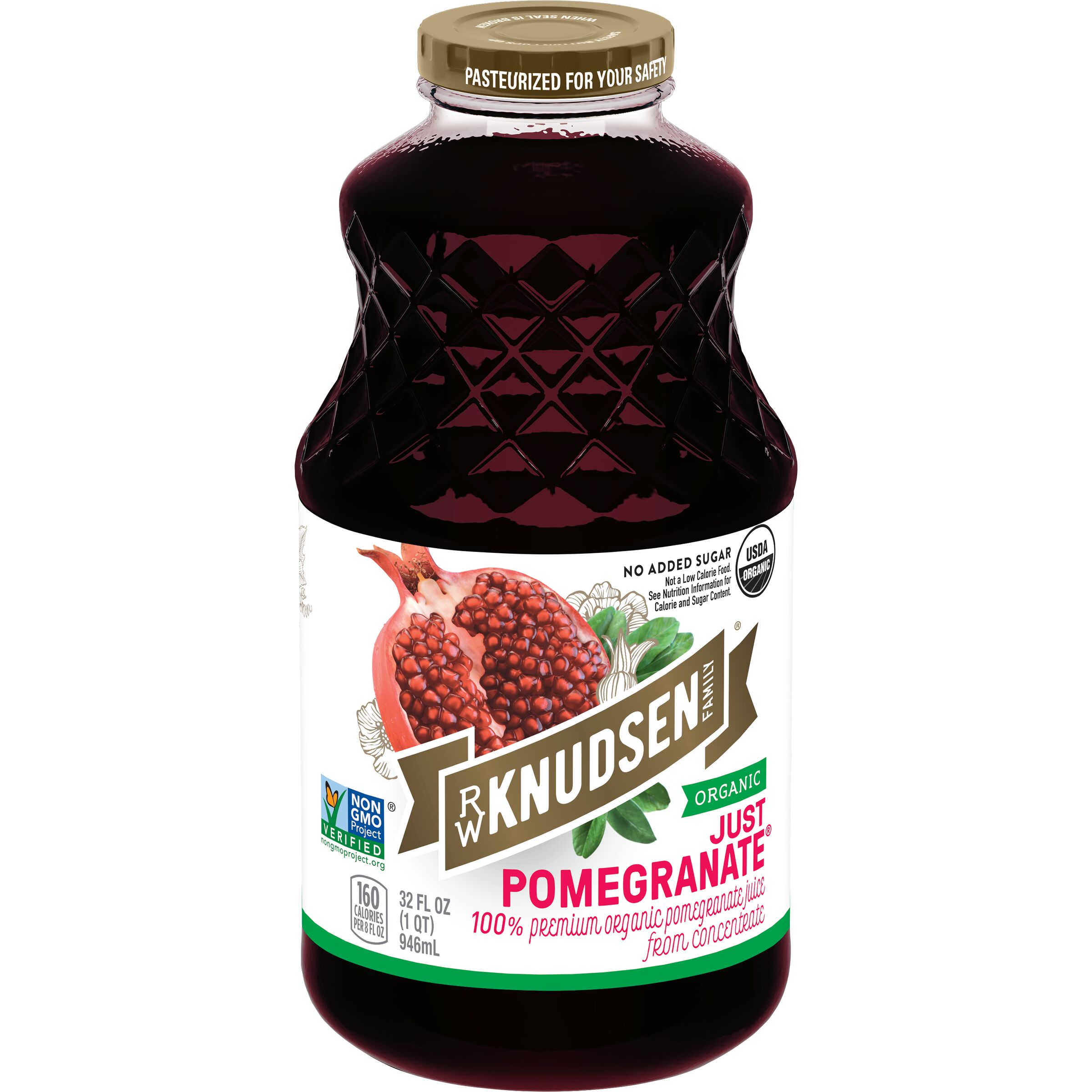 R.W. Knudsen Family  Organic Just Pomegranate™ Juice