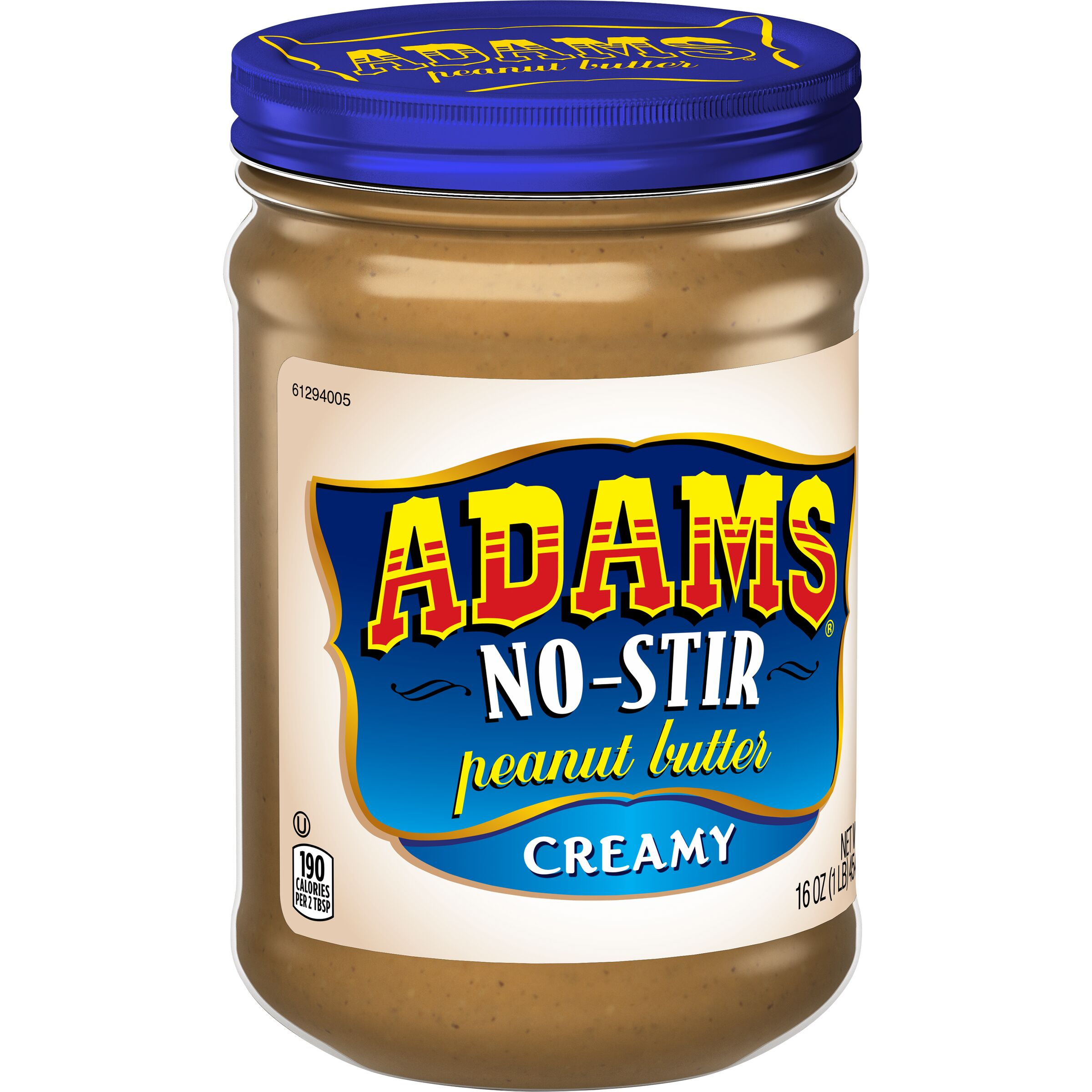 Adams<sup>&reg;</sup>  No-Stir Creamy Peanut Butter