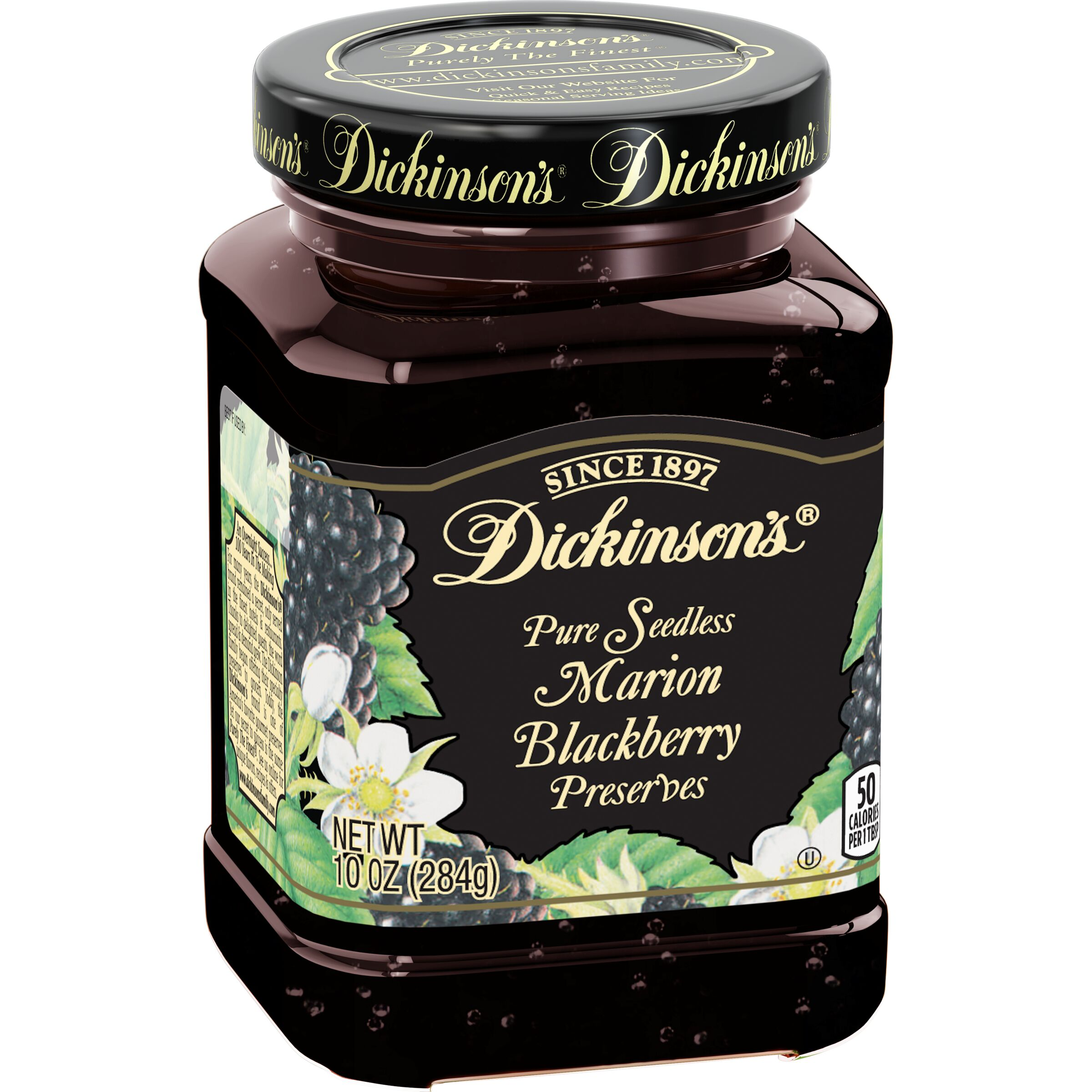 Dickinson's<sup>®</sup>  Seedless Marion Blackberry Preserves