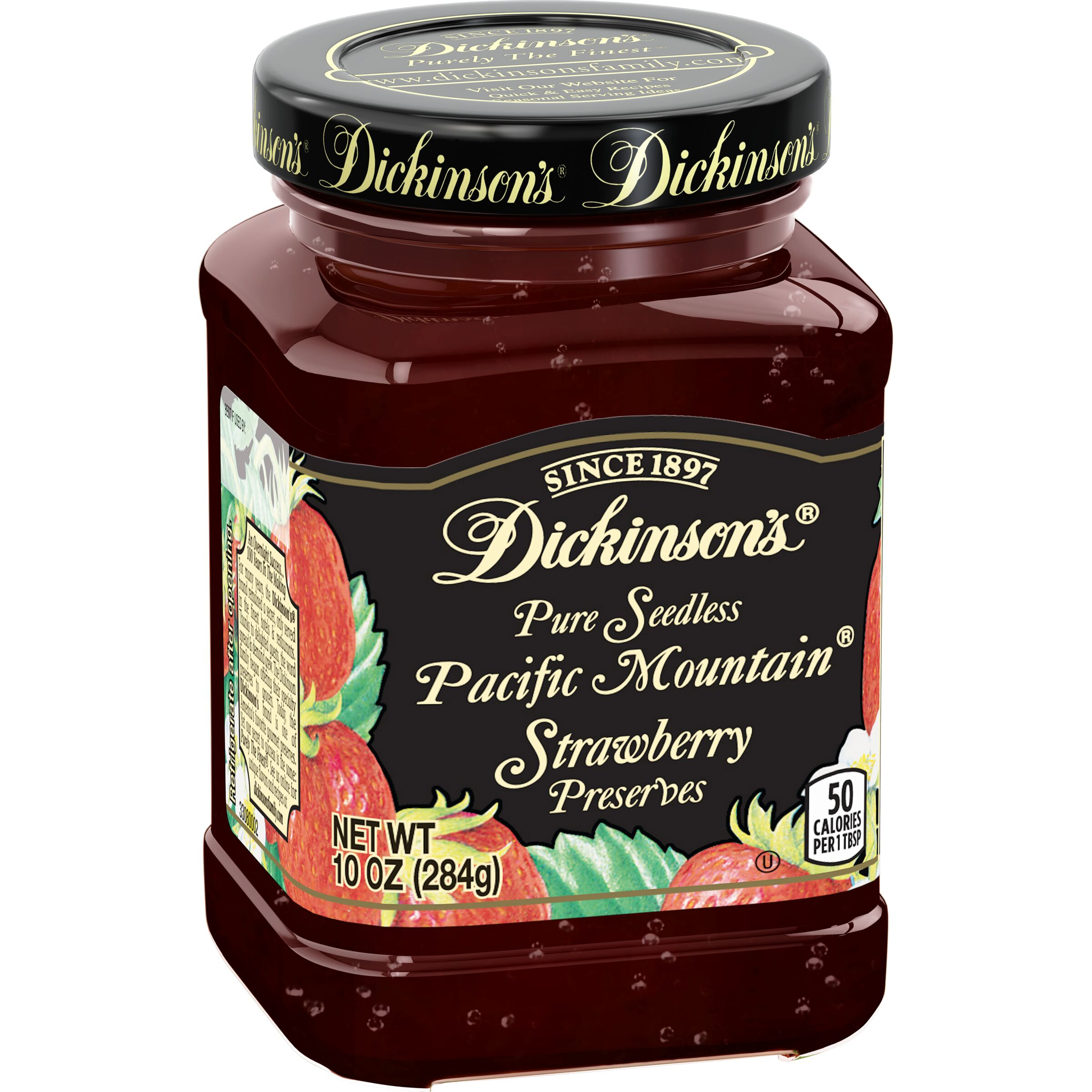 Dickinson's  Seedless Pacific Mountain® Strawberry Preserves