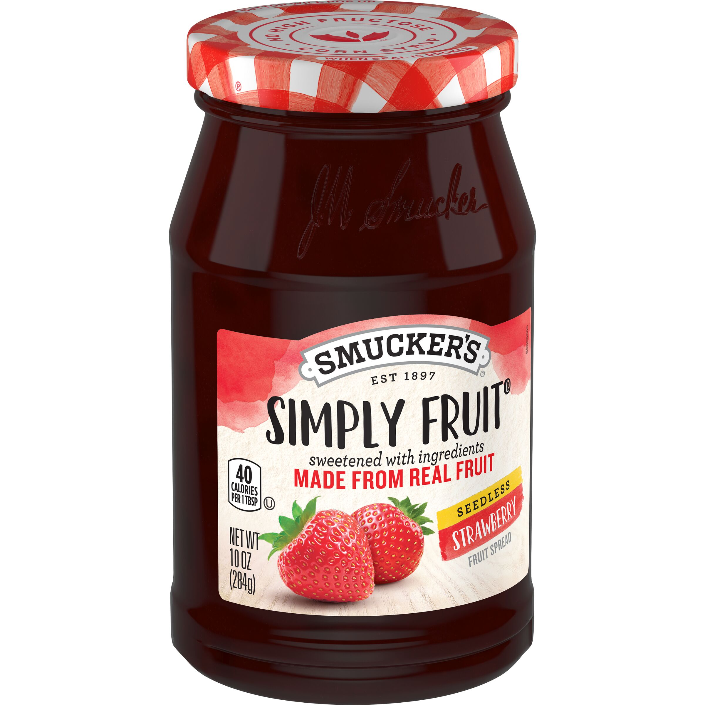 Smucker's Simply Fruit Seedless Strawberry Spreadable Fruit