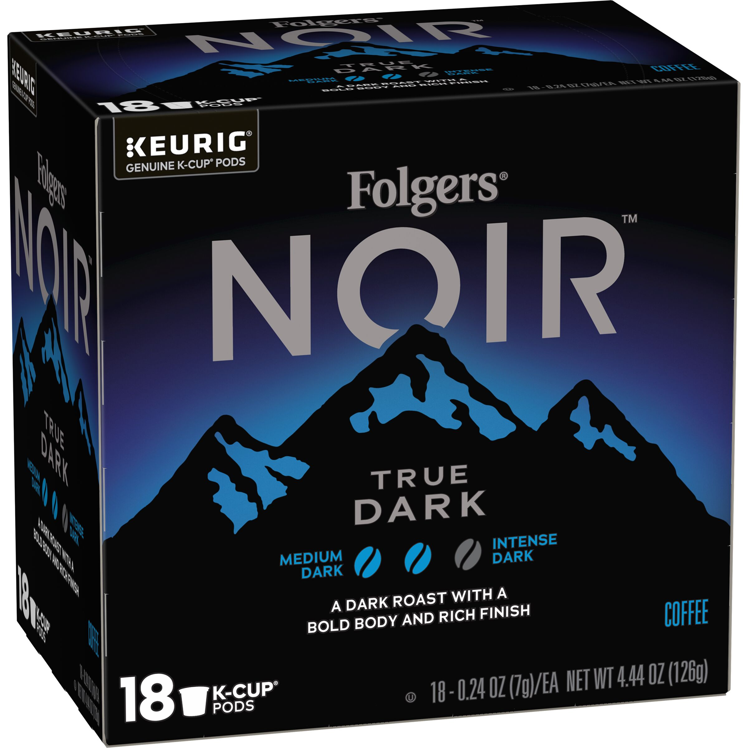 Folgers Noir True Dark K-Cup® Pods