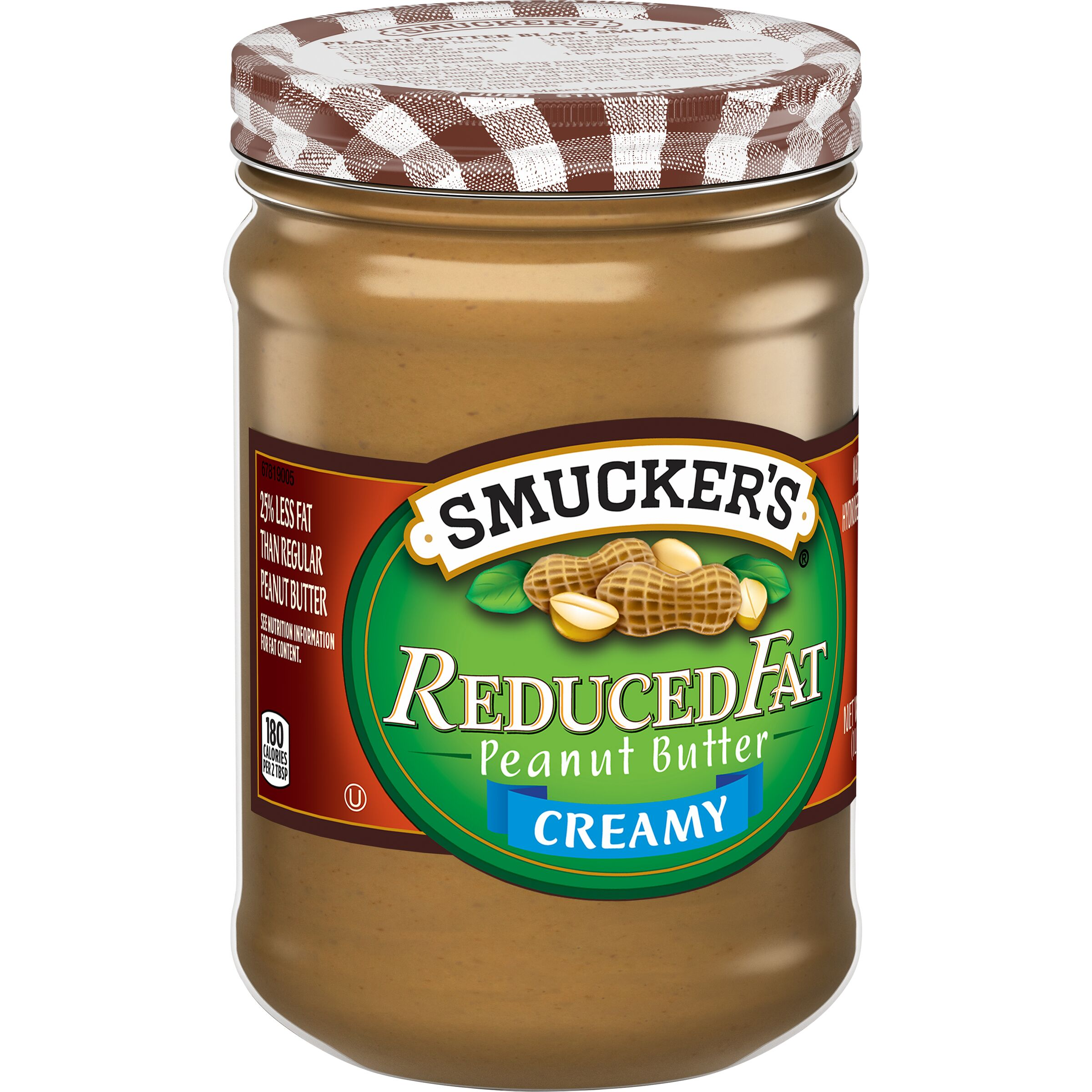 Smucker's  Reduced Fat Natural Style Creamy Peanut Butter