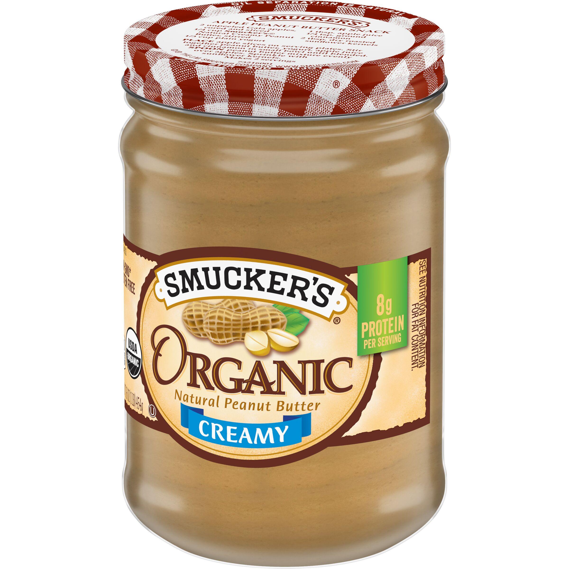 Smucker's  Organic Creamy Natural Peanut Butter