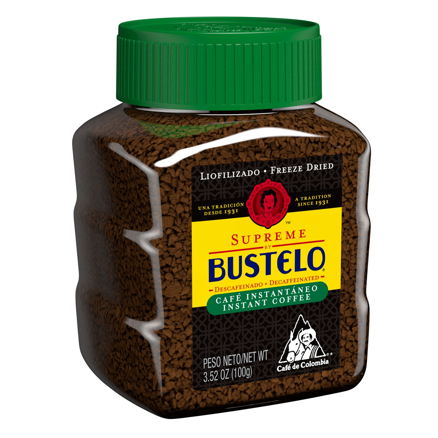 Cafe Bustelo  Supreme Decaf Freeze Dried Coffee
