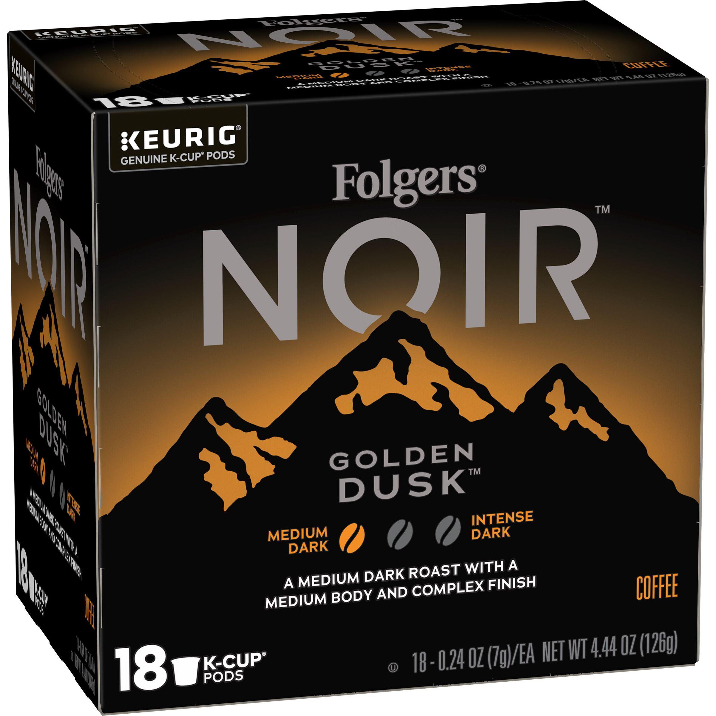 Folgers Noir Golden Dusk™ K-Cup® Pods