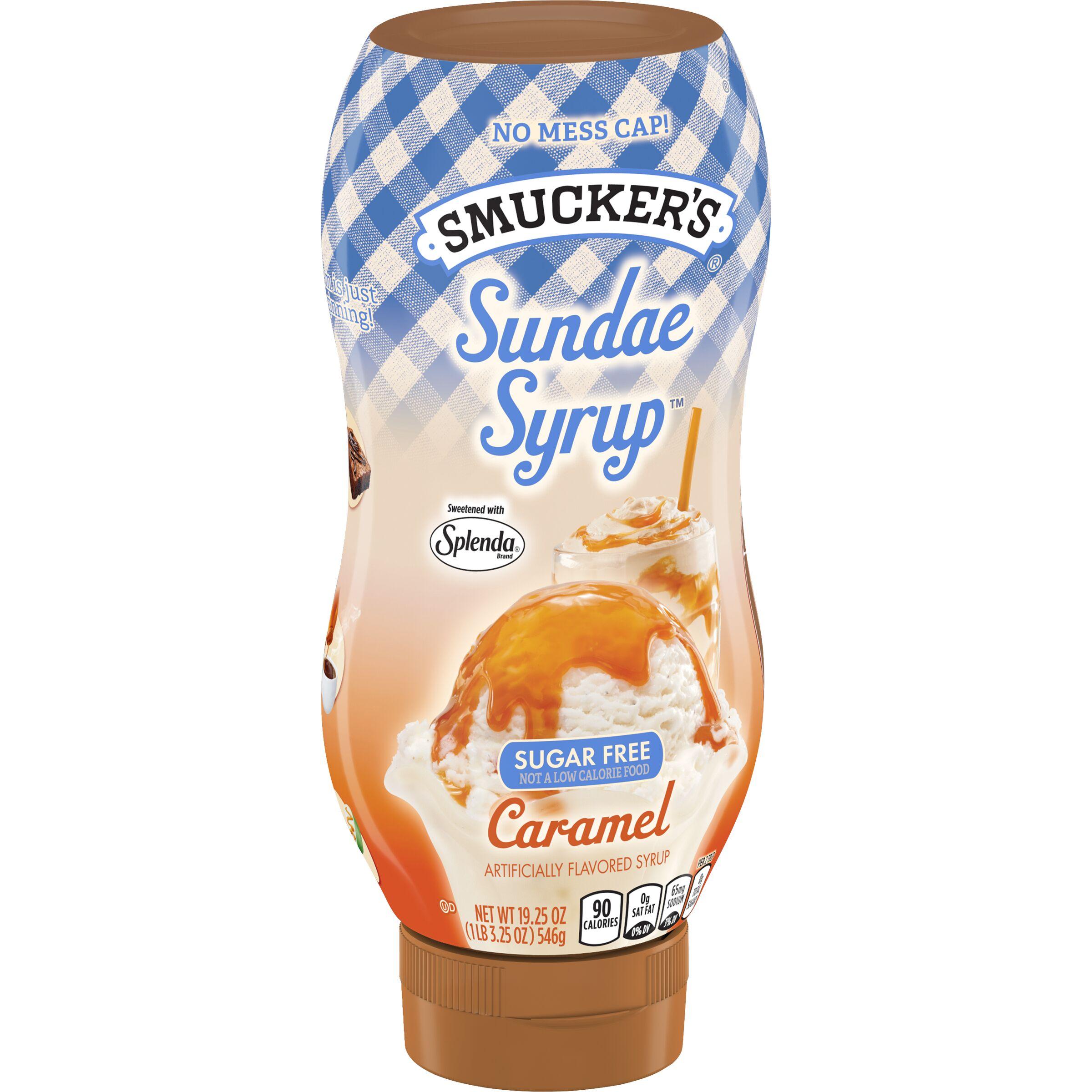 Smucker's® Sundae Syrup ® - Sugar Free Caramel - SmartLabel™