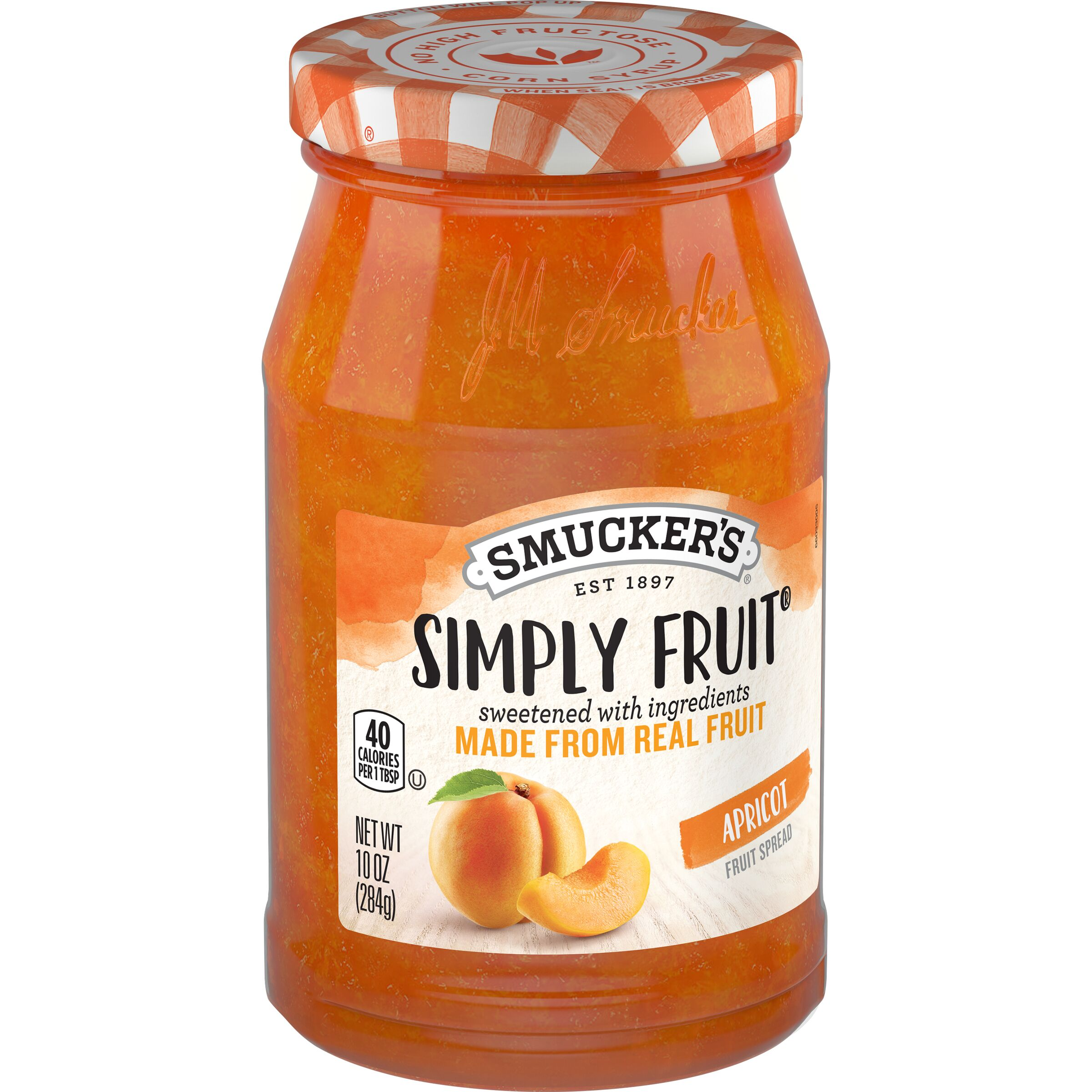 Smucker's Simply Fruit Apricot Spreadable Fruit