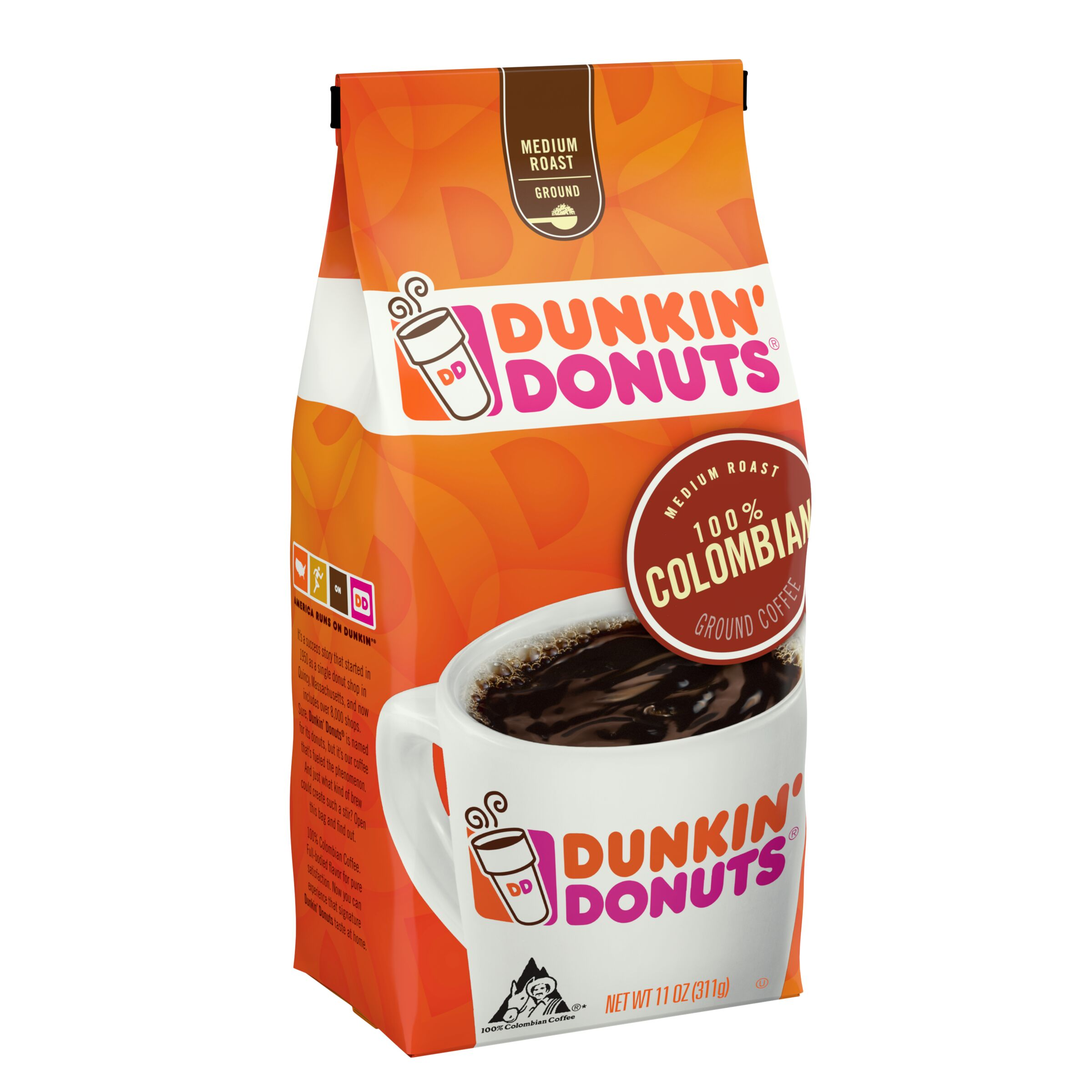 Dunkin' Donuts  100% Colombian Coffee