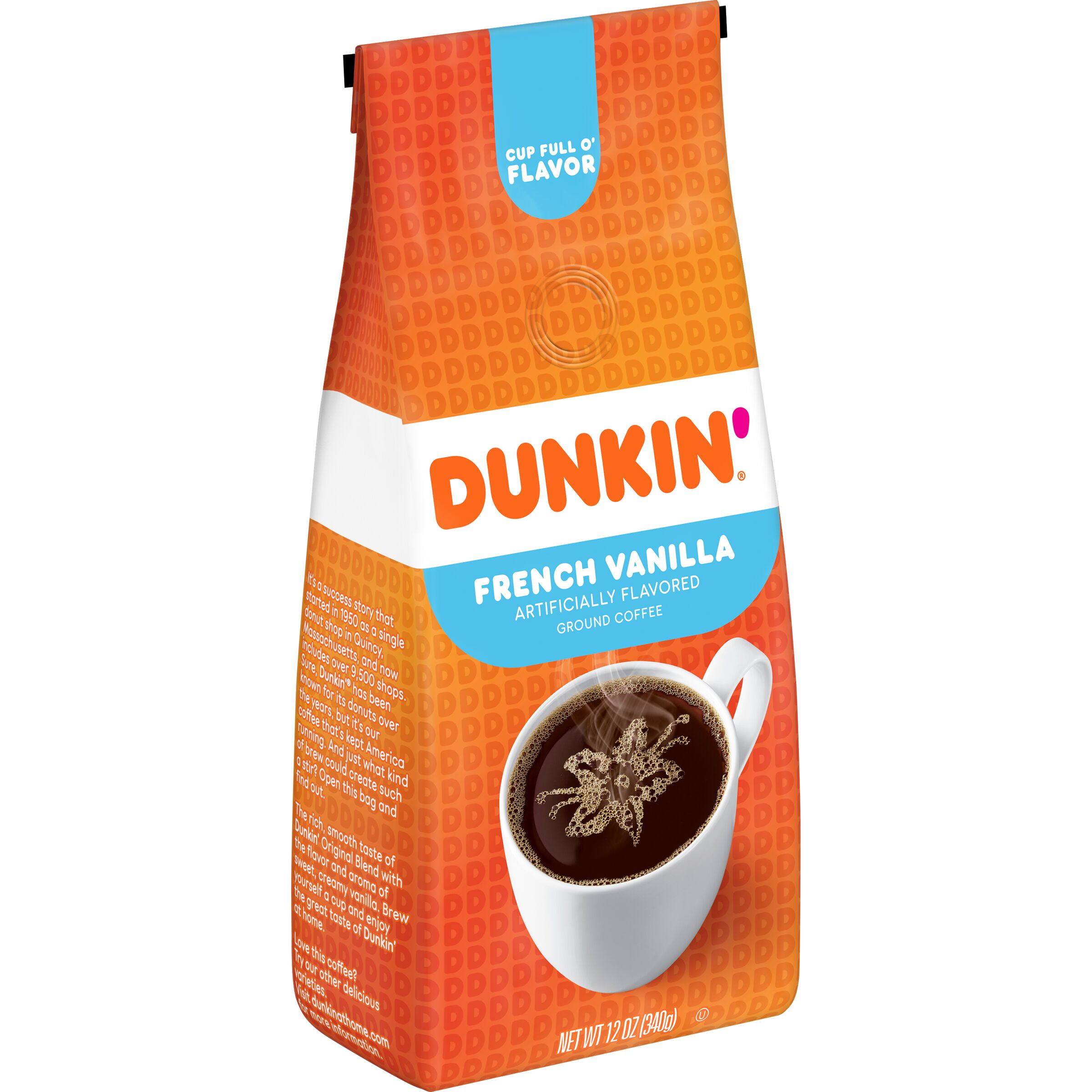 Dunkin'  French Vanilla Flavored Coffee
