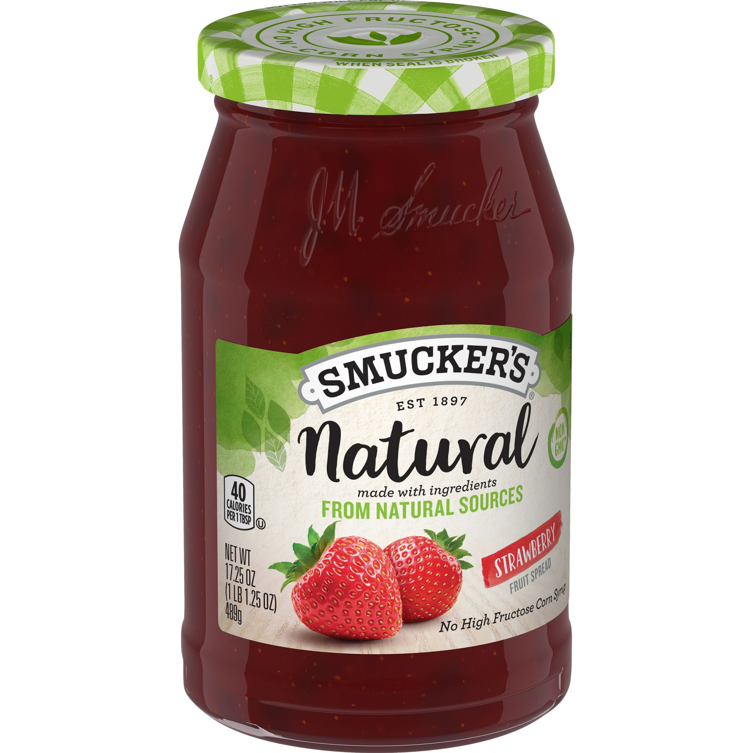 Smucker's<sup>®</sup> Natural Strawberry Fruit Spread