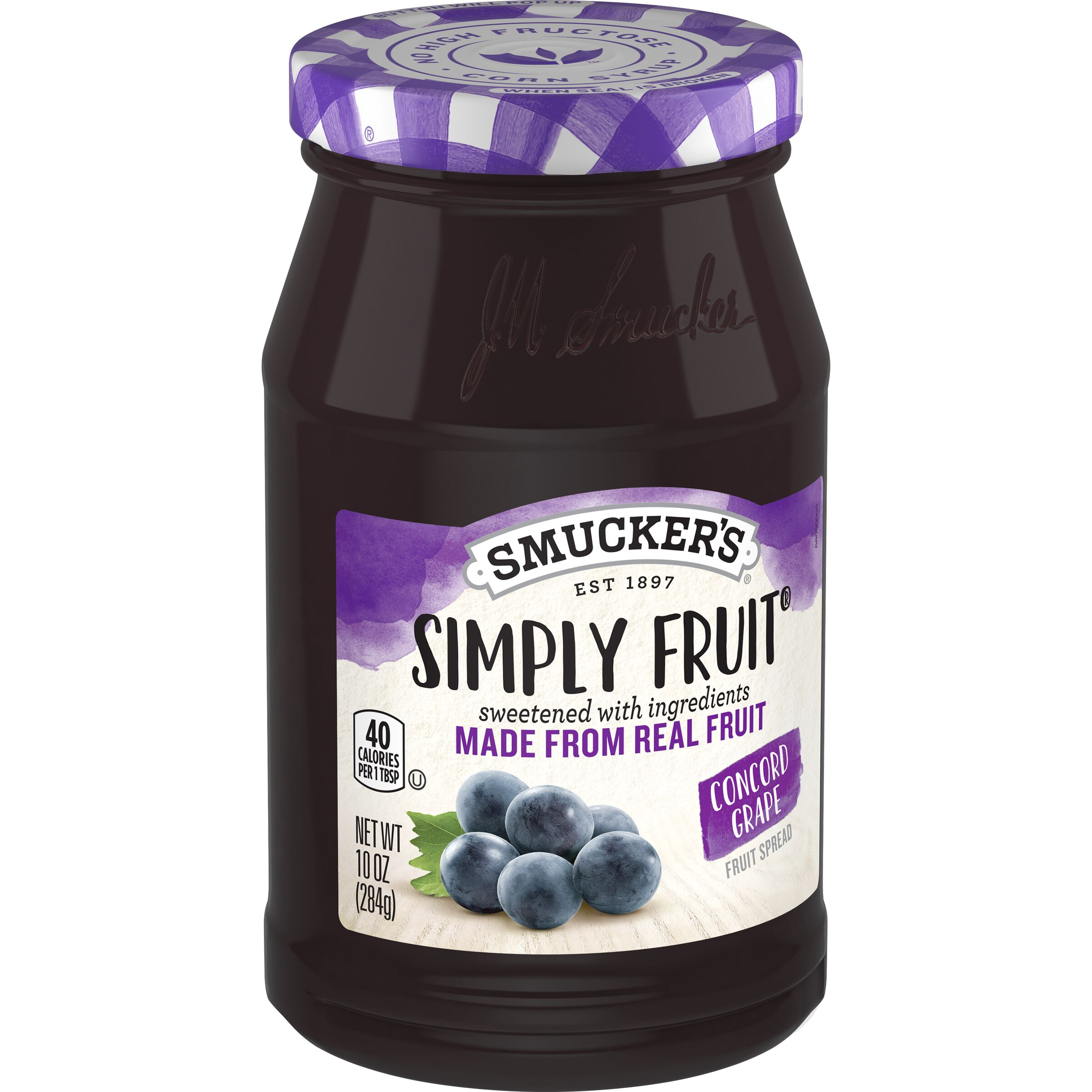 Smucker's<sup>®</sup> Simply Fruit Concord Grape Spreadable Fruit