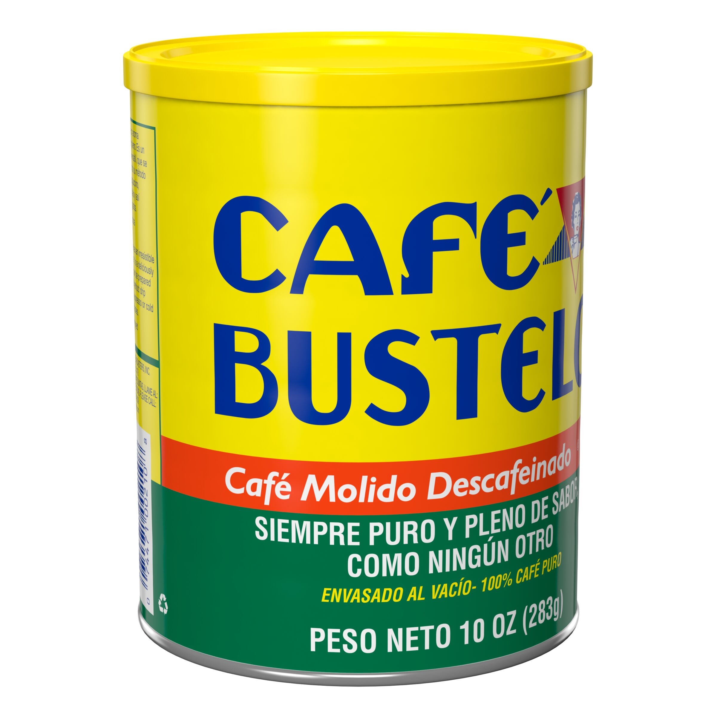 Café Bustelo<sup>®</sup>  Decaf Ground Coffee