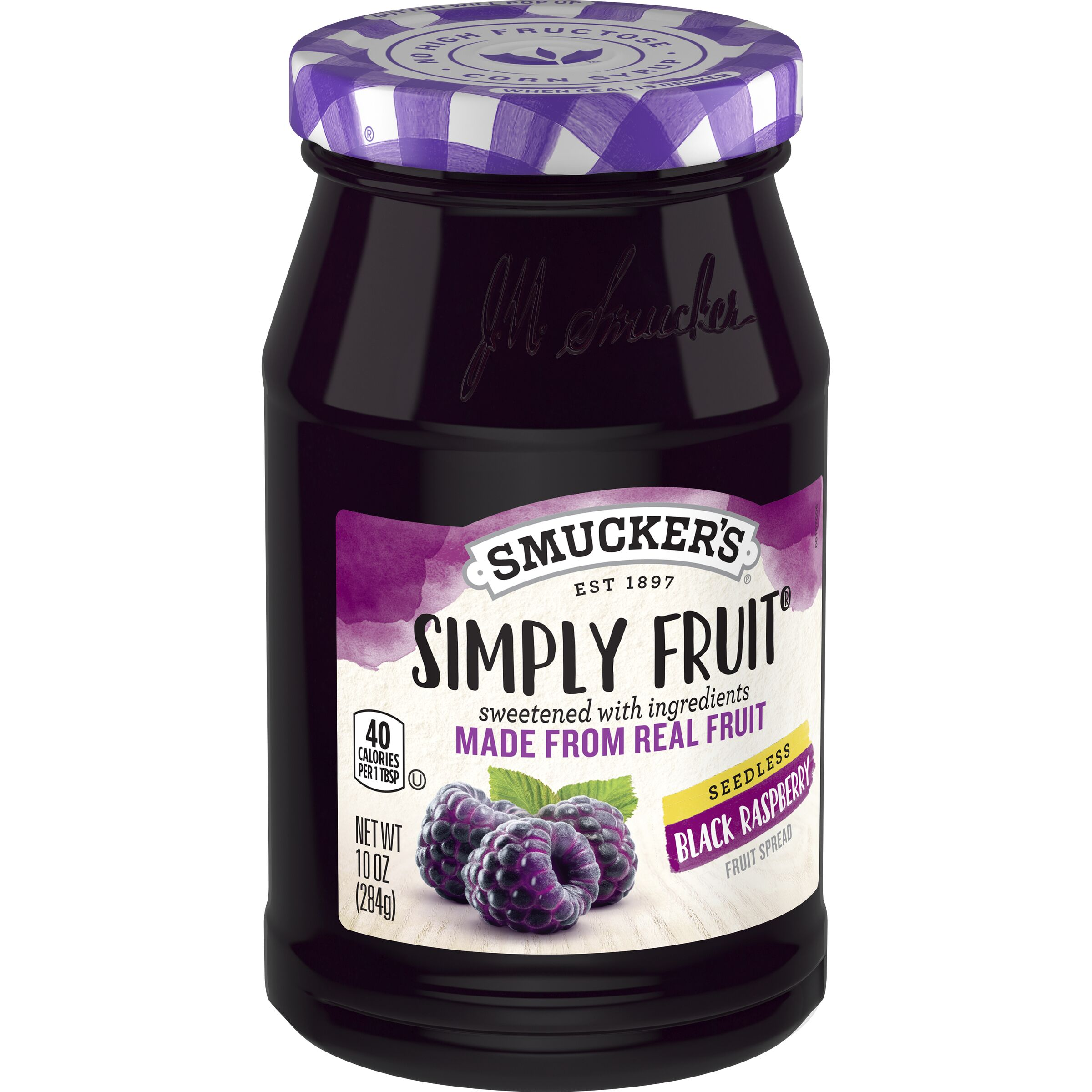 Smucker's Simply Fruit Seedless Black Raspberry Spreadable Fruit