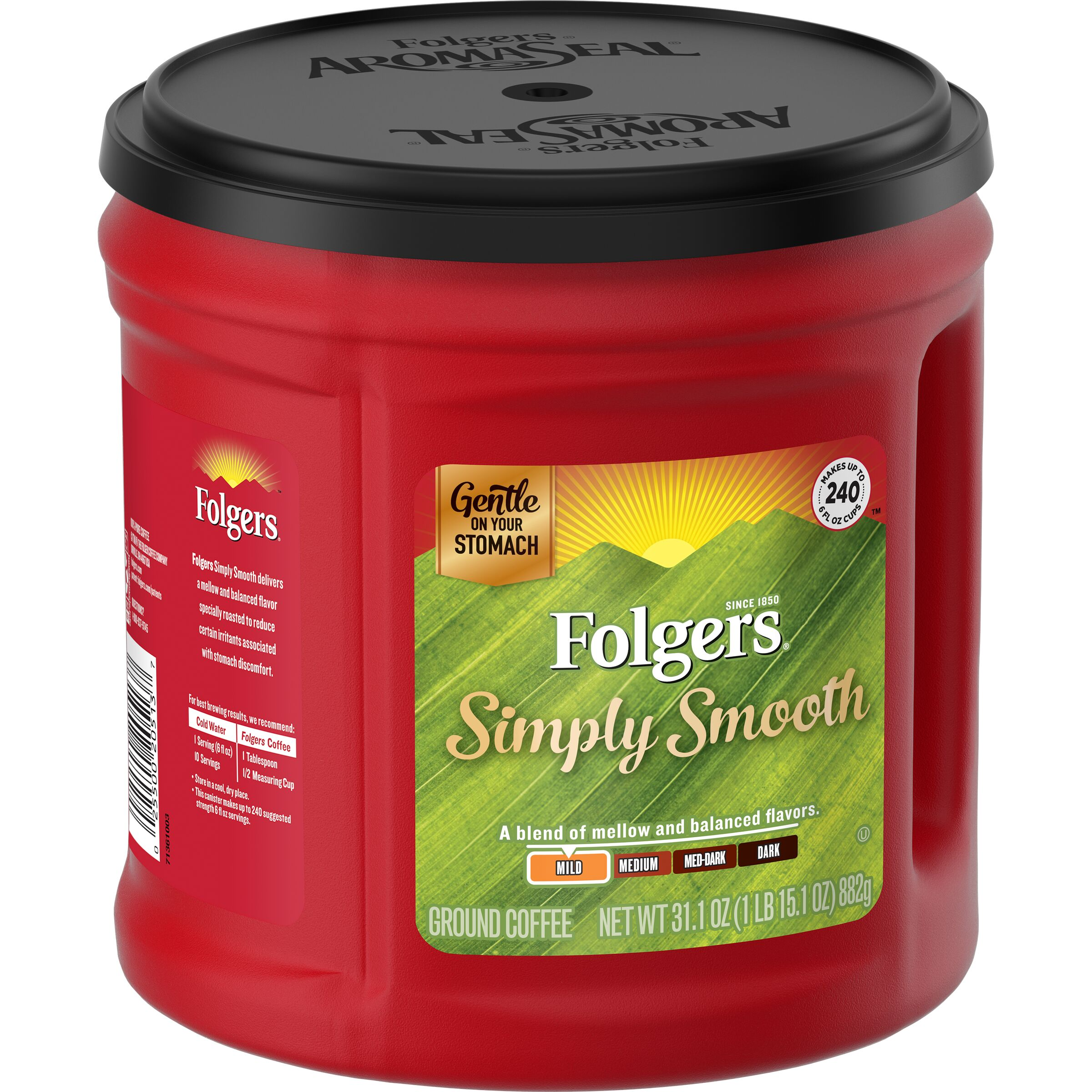 Folgers<sup>®</sup>  Simply Smooth® Coffee